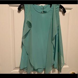 BCBGMAXAZRIA pastel blue shirt size Xs